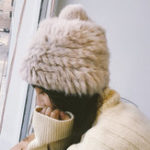 New Womens Winter Warm Soft Rabbit Hair Blend Hat