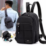 New Men Multi-function Nylon Waterproof Backpack