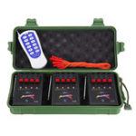 New Remote Control Switch 12 Cue Wireless Electronic Fire-work Remote Firing System With 12 E-Match Igniters