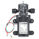 New 70W 6Lpm 130PSI Diaphragm Reflux High Mini Pressure Water Pump Automatic Switch