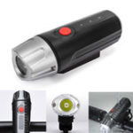 New PROMEND ET-126 650LM Cycling Bicycle Strong Front Light Waterproof USB Rechargeable LED Touch Bike Light