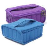 New 30 Bottle Essential Oil Nail Polish Carrying Case Storage Organizer Bag Shockproof Travel Bag