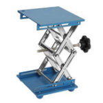 New 150*150mm Aluminum Oxide Laboratory Lifting Platform Stand Table Lab Scissor Jack Lifter Rack