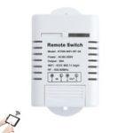 New KTNNKG 30A High Power WIFI Relay Switch Receiver 110V-220V Smart Home Gadgets Wireless Light Switch APP Control 433MHz