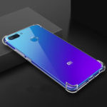 New Bakeey Air Bag Shockproof Transparent Soft TPU Protective Case for Xiaomi Mi8 Mi 8 Lite 6.26 inch