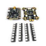New FLYWOO F405 F4 Flight Controller OSD 5V 9V BEC ICM20689 & Power Hub-LED Rev1 PDB & WS2812 8 Bits LED