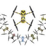 New Rcgeek Water-proof PVC Sticker RC Drone Body Remote Control Full Set for DJI Mavic 2 Pro/Zoom