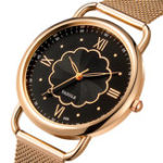 New YAZOLE 399 Rose Gold Case Full Steel Women Quartz Watch