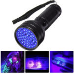 New 51 LED UV Scorpion Detector Hunter Finder Ultra Violet Blacklight Flashlight