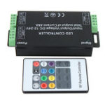 New 12/24V 20Key 48A RF Remote Controller for RGB LED Strip 5050 3528 SMD HOT