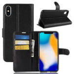 New PU Leather Wallet Kickstand Flip Protective Case For iPhone XS Max