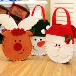 New Creative Cartoon Christmas Gift Bag Candy Bag Apple Gift Bag