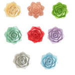 New 40CM Paper Flower Window Decals Floral Backdrop Wall Wedding Birthday Party Home Shop Decorations
