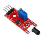 New KY-026 Flame Sensor Module IR Sensor Detector For Temperature Detecting For Arduino