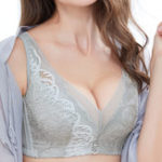 New Soft No Padded Wireless Gather Breathable Bra