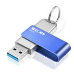 New MECO USB 3.0 64G USB Flash Drive Memory Pen Drive Aluminum With Keyring USB Disk