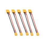 New 5Pcs 10cm 20AWG XT60 Female Plug to XT30 Male Plug Cable Adapter for Battery Charging