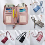 New Women Multifunctional Phone Bag Long Wallet