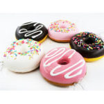 New Cake Squishy Chocolate Donuts 9CM Scented Doughnuts Squeeze Jumbo Gift Collection With Packaging
