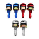 New Universal Aluminum Alloy Car Front Windshield Sprayer Washer Nozzle