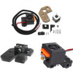 New Extruder Remote Feeding with 0.4mm Nozzle + 42 Stepper Motor Reprap Part Kit for 1.75mm Filament Anet A8 3D Printer