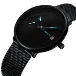 New CRRJU 2258 Simple Dial Color Bright Pointer Quartz Watch