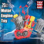 New Children's Disassembly Assembly Toy Engine Puzzle Hands-On Disassembly Moto