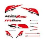 New Volantex Ranger 2000 V757-8 2000mm Wingspan RC Airplane Spare Part Decals