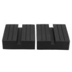 New Universal Slotted Frame Rail Floor Rubber Jack Lift Pads