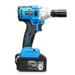 New 15000mAh Electric Impact Wrench 340Nm Cordless Brushless with 2 Lithium Battery