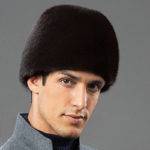 New Mens Winter Warm Artificial Mink Fur Trapper Hat