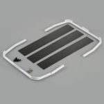New Stainless Truck Bed Roof Roll Cage ABS For KB#48667 Truck Bed Set RC Car Parts