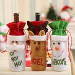 New Christmas Xmas Bottle Covers Bag
