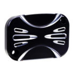New RIGHT Motorcycle Brake Master Cylinder Cover For Harley Touring Street Glide 14-16 ShallowCut