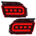 New Car LED Rear Bumper Reflector Driving Fog Lights Brake Lamps for Toyota Cruiser Prado 2018