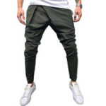 New Casual Street Style Drawstring Harem Pants