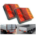 New CNSUNNYLIGHT 12V LED Car Rear Tail Lights Brake Turn Signal Lamp Waterproof for Trunk Trailer