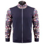 New Mens Camo Printing Splice Outdoor Running Sport Jacket