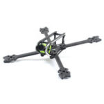 New SKYSTARS Edge 220mm FPV Racing Frame Kit 6mm Arm Supports Caddx Turbo S1 RunCam Swift Mini 2 Camera