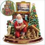 New Xmas Christmas Santa 5D DIY Full Diamond Painting Embroidery Cross Stitch Decorations