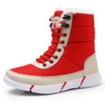 New Plus Size Outdoor Waterproof Keep Warm Snow Boots