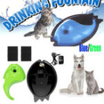 New Pet Puppy Electric Circulating Drinking Water Fountain Waterer Bowl Cycle Feeder Dog Cat