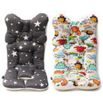 New Baby Kids Soft Car Seat Stroller Cushion Pad Liner Mat Head Body Support Pillow
