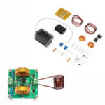 New DIY Mini ZVS Tesla High Voltage Generator Coil Kit High Frequency Induction Heating Machine Module Board