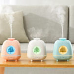 New LED Ultrasonic Aromatherapy Machine Humidifier Water Oil