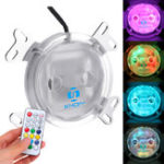 New G1/4 LED Colorful Light CPU Cooler Water Cooling Water Block with Controller for Intel AM2 AM3 AM4