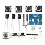New DSO150 Digital Electronic Oscilloscope Set With Housing Case Probe Fully DIY Assemble Tools Kit