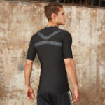 New Mens Breathable Quick-drying Sports Tops