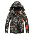 New Camo Multi Pockets Windproof Thick Utility Outdoor Jacket