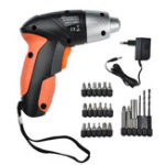 New 24 PCS 4.8 V Electric Screwdriver Rechargeable Battery Cordless Screw Driver Drill Bits Set